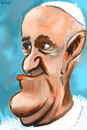 Cartoon: ... (small) by to1mson tagged papst,papiez,papa,francis,francesco,franciszek