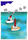 Cartoon: ... (small) by to1mson tagged meer,morze,sea,schiff,statek,boat