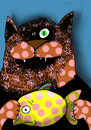 Cartoon: ... (small) by to1mson tagged cat,fish,katze,fisch,kot,ryba,natura,umwelt,natur