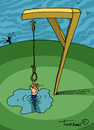 Cartoon: ... (small) by to1mson tagged hanging,hangman,wisielec,tonie,sznur,rope