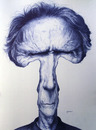 Cartoon: Clint Eastwood (small) by manohead tagged caricatura,manohead,caricature