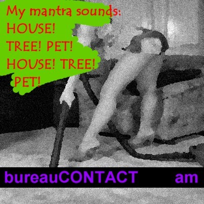 Cartoon: buCO_39 House-Tree-Pet (medium) by Age Morris tagged agemorris,internetdating,webdating,onlinedating,datelife,personals,profile,lookingforaman,manhunt,getadate,desperate,internet,romance,housetreepet,mantra,dateless,nodate,housewife,lovetoclean