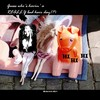 Cartoon: MH - A BAD Hair Day! (small) by MoArt Rotterdam tagged rotterdam moart moartcards dollworld dolltoon poppenwereld poppencartoon hair haar badhairday slechtehaardag hihihi barbie