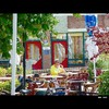 Cartoon: MH - Enjoying a Coke (small) by MoArt Rotterdam tagged rotterdam,terrasje,terrace,drinking,drinken,pepsi,cola,rustig,coke,cocacola,quiet,summer,zomer