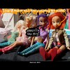 Cartoon: MH - MY Outfit!!! (small) by MoArt Rotterdam tagged rotterdam moart moartcards girls girlfight outfit ohmygod omg fashion crisis beauty dolltoon