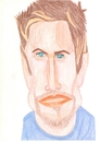 Cartoon: Desmond Harrington (small) by paintcolor tagged caricature,desmond,harrington,actor,famous,hollywood