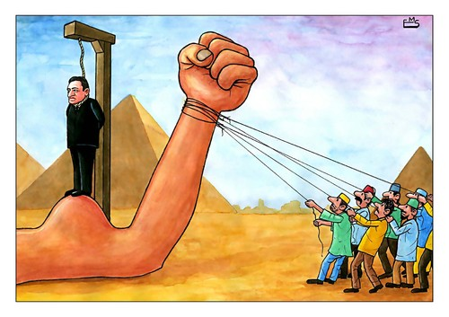 Cartoon: Muborak (medium) by Makhmud Eshonkulov tagged muborak,egypt