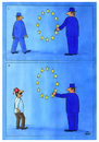 Cartoon: EU (small) by Makhmud Eshonkulov tagged eu,european,union