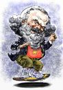 Cartoon: Marx_skate (small) by Bob Row tagged karl,marx,europa,capitalism,greece