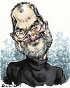 Cartoon: Steve Jobs (small) by Bob Row tagged jobs,apple,technology,ipad,iphone