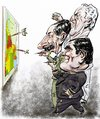Cartoon: Videla-Massera-Galtieri (small) by Bob Row tagged argentina military junta dictatorship
