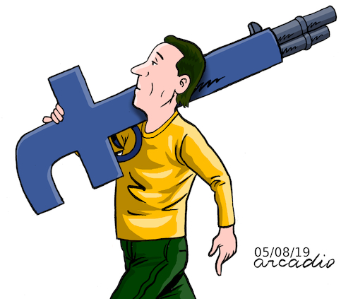 Cartoon: Uses for the F of Facebook 2 (medium) by Cartoonarcadio tagged social,nets,internet,facebook,computers