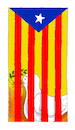 Cartoon: After referendum in Cataluna. (small) by Cartoonarcadio tagged cataluna,spain,europe,independence,referendum
