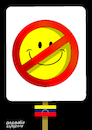 Cartoon: Happiness banned. (small) by Cartoonarcadio tagged happiness,society,poor,countries