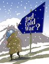 Cartoon: Second Cold War? (small) by Cartoonarcadio tagged cold,war,wapons,conflicts,crisis