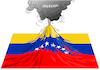 Cartoon: Venezuela erupt for its freedom. (small) by Cartoonarcadio tagged venezuela,maduro,freedom,democracy