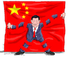 Cartoon: Xi Jinping for ever. (small) by Cartoonarcadio tagged china,xi,jinping,dictatorship,communist,party