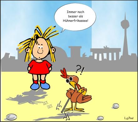 Cartoon: Berliner Göre (medium) by ucomix tagged comix,cartoons