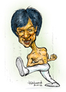Cartoon: Jackie Chan caricature (small) by Harbord tagged jackie,chan,martial,arts,actor,comedy