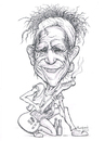 Cartoon: Keith Richards (small) by Harbord tagged keith,richards,rolling,stones,caricature