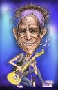 Cartoon: Keith Richards caricature (small) by Harbord tagged keith,richards,caricature,rolling,stones,guitarist