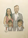 Cartoon: Long Family (small) by Harbord tagged family,portrait,caricature