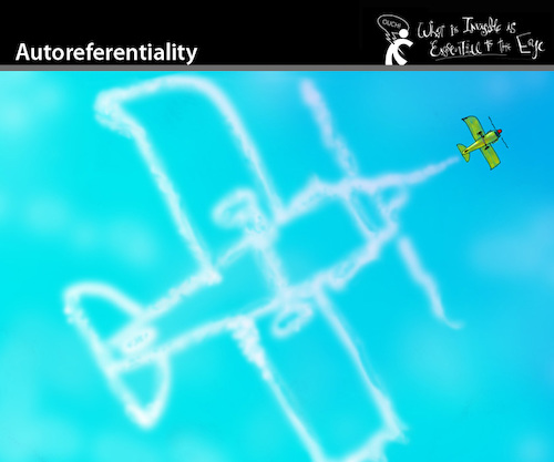 Cartoon: Autoreferentiality (medium) by PETRE tagged plane,sky,selfie