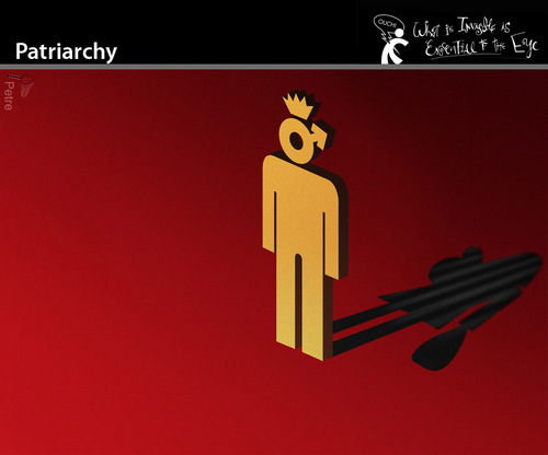 Cartoon: Patriarchy (medium) by PETRE tagged society,feminism