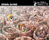 Cartoon: All Walls The Wall (small) by PETRE tagged socialnets facebook tweeter communication