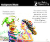 Cartoon: Background Music (small) by PETRE tagged passion,politics,war,irrational