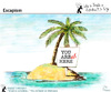 Cartoon: Escapism (small) by PETRE tagged island,loneliness