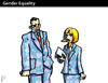 Cartoon: Gender Equality (small) by PETRE tagged women,rights