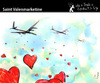 Cartoon: Saint Valenmarketine (small) by PETRE tagged valentine,lovers,marketing