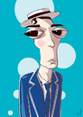 Cartoon: The great stone face (small) by PETRE tagged celebrities,hollywood,silver,screen