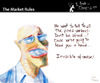 Cartoon: The Market Rules (small) by PETRE tagged invisible,hand,adam,smith
