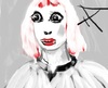 Cartoon: White  Lady (small) by Hezz tagged ghostly