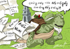 Cartoon: The Turtle of Hoan Kiem lake (small) by zenchip tagged turtle hoan kiem lake paper