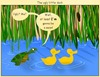 Cartoon: The ugly duckling 2 (small) by andriesdevries tagged ugly duckling duck turtle