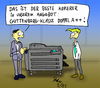 Cartoon: Doppel A plus (small) by Matthias Stehr tagged guttenberg,adel,plagiat,betrug