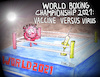 Cartoon: Vaccine vs Virus World Boxing (small) by Matthias Stehr tagged vaccine,covid,19,sars