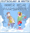 Cartoon: Paarshippen (small) by Trumix tagged paarship,winter,schnee,schneeschippen,schippen,eis,kälte