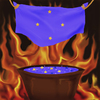 Cartoon: blue soup (small) by gartoon tagged flame,soupe,blue,heaven