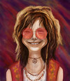 Cartoon: Janis Joplin (small) by gartoon tagged caricature,blues,singer,rock,hippy