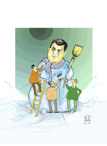 Cartoon: Dodik Milorad (medium) by Hule tagged bosnien,und,herzegovina