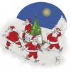 Cartoon: New Year (small) by Hule tagged holidays