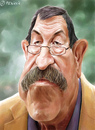 Cartoon: Günter Grass (small) by penava tagged grass,karikatur,caricature,guenter,nobelpreis,nobel,prize,literature,author