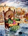 Cartoon: King Canute (small) by Nick Lyons tagged king,canute