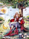 Cartoon: Sir Isaac Newton cartoon (small) by Nick Lyons tagged sir,isaac,newton,cartoon,nick,lyons,cartoonist,joke,man,nature,tree,apple,science