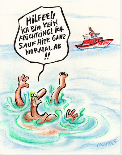 Cartoon: seenotrettung (medium) by Petra Kaster tagged immigration,gewalt,rechtsradikale,fremdenhass,ertrinken,meer,wasser,humanität,seenotrettung,politik,fremdenpolitik,migration,demokratie,immigration,gewalt,rechtsradikale,fremdenhass,ertrinken,meer,wasser,humanität,seenotrettung,politik,fremdenpolitik,migration,demokratie