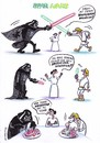 Cartoon: spar wars (small) by Petra Kaster tagged star,wars,resourcen,technologie,energie,energiewende,film,strompreise,stromkonzerne